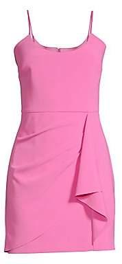 Parker Black Women's Myrtle Draped Mini Bodycon Dress