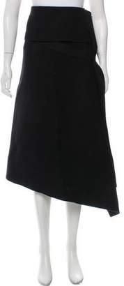 Ter Et Bantine Asymmetrical Wool Skirt