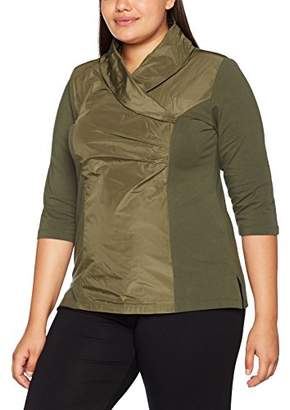Ulla Popken Women's TAFT-Shirt, 3/4-Arm T-Shirt,UK 32