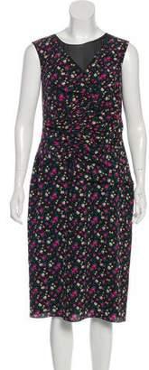 Nina Ricci Printed Midi Dress