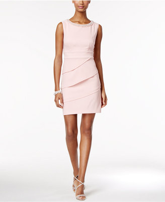 Connected Embellished Sheath Dress $79 thestylecure.com