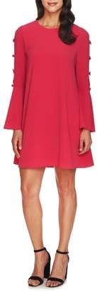 CeCe Abby Bell Sleeve Dress