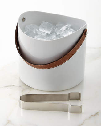 Ralph Lauren Home Wyatt Ice Bucket and Tongs