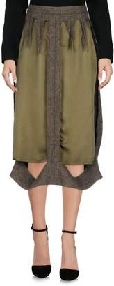 MM6 MAISON MARGIELA 3/4 length skirts - Item 35377951QQ