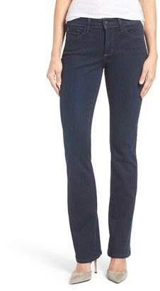 Women's Nydj 'Billie' Stretch Mini Bootcut Jeans $124 thestylecure.com
