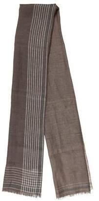 Salvatore Ferragamo Striped Pattern Scarf