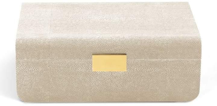 Modern Shagreen Large Jewellery Box