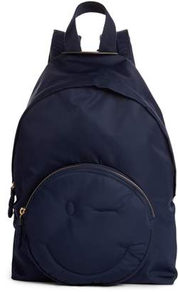 Anya Hindmarch Chubby Smiley Nylon Backpack