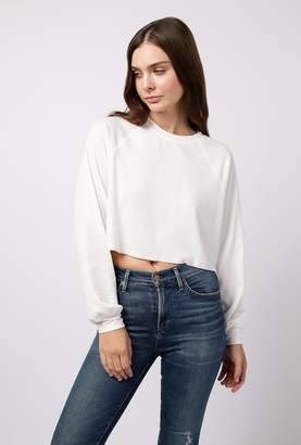 Azalea Round Neck Crop Sweater