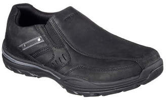 Skechers NEW Men Sneakers Slippers Loafer Memory Foam ELMENT- BRENCEN black