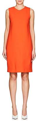 Lisa Perry WOMEN'S CREPE SHIFT DRESS - ORANGE SIZE 4