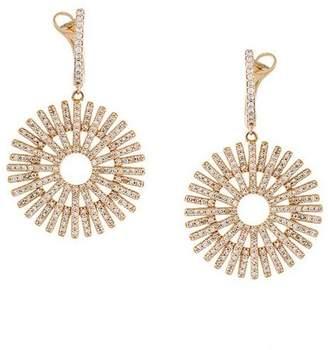 Astley Clarke 'Rising Sun' diamond earrings