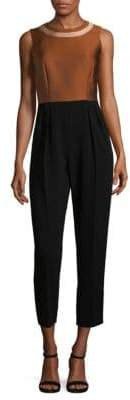 Max Mara Pleated Jumpsuit