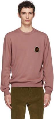 Fendi Pink Circle Logo Sweater