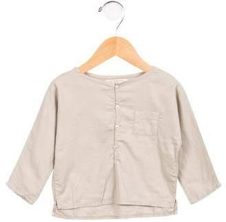 Caramel Baby & Child Boys' Long Sleeve Button-Up Shirt