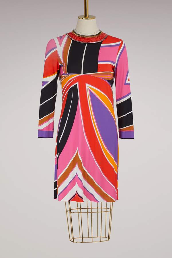 Emilio Pucci Jersey knee length dress