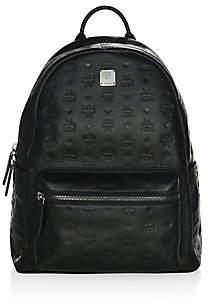 MCM Men's Monogram Leather Backpack