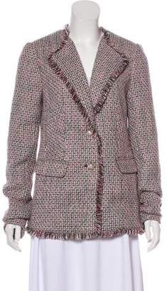 Karl Lagerfeld Structured Tweed Blazer w/ Tags