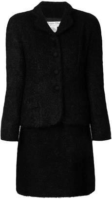 Christian Dior Pre-Owned bouclé skirt suit
