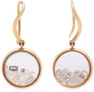 Aurelie Bidermann FINE JEWELLERY Chivor 18kt gold & diamond earrings