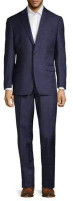 Lauren Ralph Lauren Windowpane Wool Suit