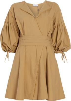 Tanya Taylor Rachele Cotton Poplin Dress