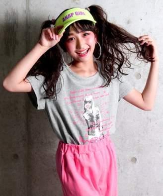 ANAP (アナップ) - ANAP GiRL GIRLメッセージフォトTシャツ