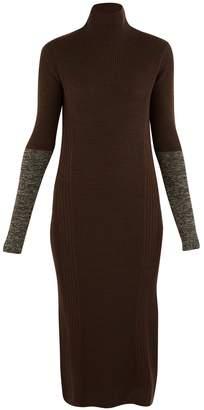 Boontheshop Long wool dress