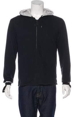 Helmut Lang Vintage Knit Zip Bondage Hoodie
