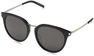 Saint Laurent Unisex SL 130/K Combi 001 Sunglasses