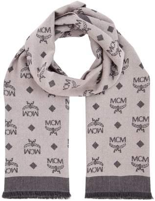 MCM Monogram Wool Scarf