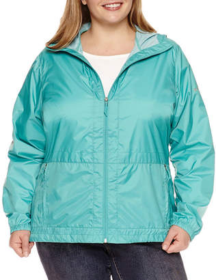 Columbia Rain to Fame Rain Jacket - Plus