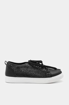 Ardene Rhinestone Sneakers