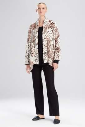 Natori N Snow Leopard Jacket