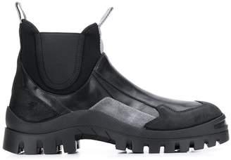 Premiata colour block boots