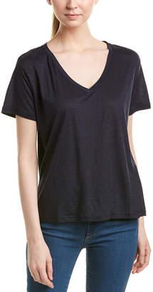 J Brand Linen-Blend T-Shirt