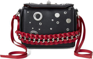 Alexander McQueen Black & Red Box Bag 16