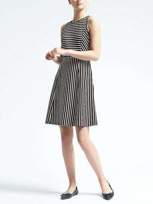 Stripe Fit-and-Flare Dress $98 thestylecure.com
