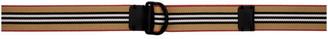 Burberry Beige Webbing Stripe Belt