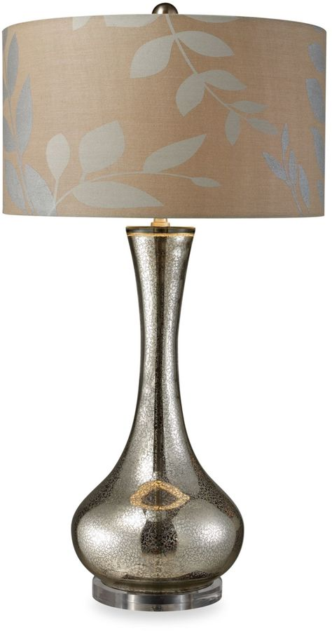 Bed Bath & Beyond Dimond Lighting Orion Antique Mercury Blown Glass Table Lamp