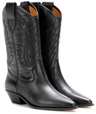 Etoile Isabel Marant Dallin leather boots
