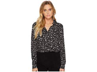 Ellen Tracy Boyfriend Shirt Women's Clothing