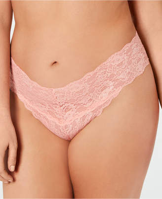 Cosabella (コサベラ) - Cosabella Women Plus Size Never Say Never Lace Thong NEVER0325P, Online Only