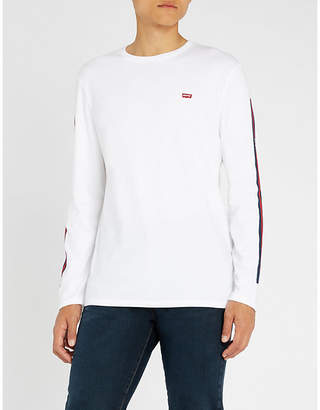 Levi's Reissue logo-print cotton-jersey long-sleeved T-shirt