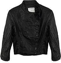 Gary Graham Leather Linen Jacket