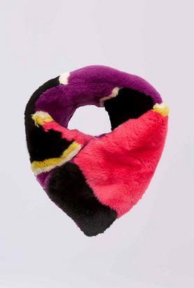 Rabbit Fur Collar $348 thestylecure.com