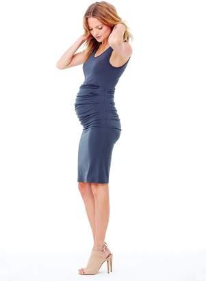 Ingrid & Isabel Women's Maternity Pleated Tank Dress