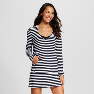 Merona Women's Hooded Knit Cover up Dress $22.99 thestylecure.com