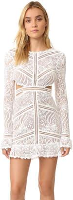 For Love & Lemons Emerie Cutout Dress $268 thestylecure.com