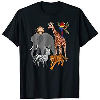 DAY Birger et Mikkelsen Zoo Animals Shirt Wildlife Birthday Party A At The Zoo